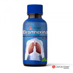 Bromhexina Caplin Point  Jarabe 4mg Frasco de 120ml